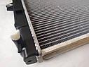 Радиатор охлаждения на погрузчик Toyota FG/FD 10 - 18 (6400 грн) 16410-23331-71, 164102333171, фото 3