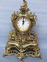 """Часы """"Ажурные"""" каминные из бронзы"""