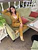 Жіночий костюм, брюки-дудочки і подовжений піджак, костюмна тканина. Розмір: 42-44. Різні кольори. (Р 2458), фото 4