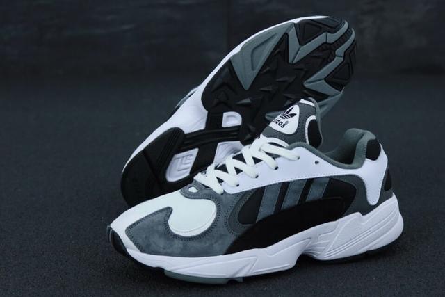 Adidas Yung 1 Grey White фото