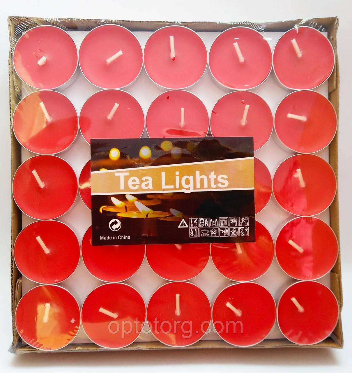 Свечи таблетки  плавающие красные 100 штук 2,5 часа