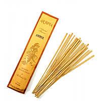 Amber (Амбер)(Arjuna) пыльцовое благовоние (Индонезия)