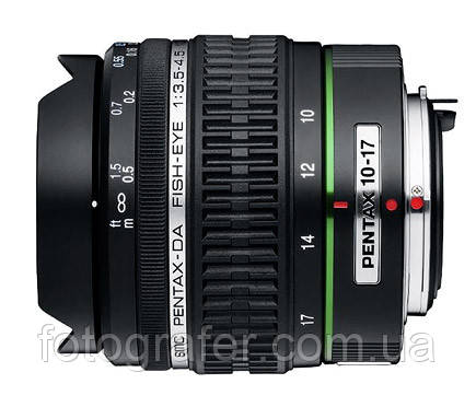 Объектив SMC Pentax DA 10-17mm F/3.5-4.5 Fish Eye ED [IF] ( на складе )