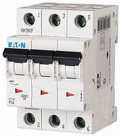 Автоматичний вимикач 40А, х-ка С, 3 полюси,6 кА PL6-C40/3