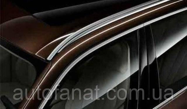 Оригинальный рейлинг на крышу левый серебристый BMW Х6 (F16, F86) (51137333531)