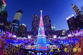 Самые красивые новогодние елки в мире. Часть 1. Уличные елки