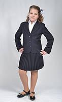 Костюм школьный на девочку Тина (пиджак+юбка)