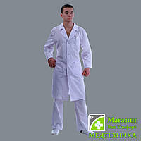Мужской медицинский халат «Классика»