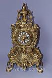 "Часы каминные ""Нептун"" бронза, фото 4"