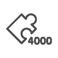 Пазлы на 4000 элементов