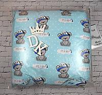 Набор в кроватку для новорожденных с балдахином (9 предметов). Оптом