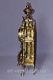 """Часы  """"Барокко"""" каминные из бронзы, фото 2"""