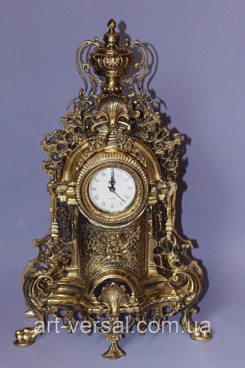 """Часы  """"Барокко"""" каминные из бронзы"""