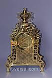 """Часы  """"Барокко"""" каминные из бронзы, фото 3"""