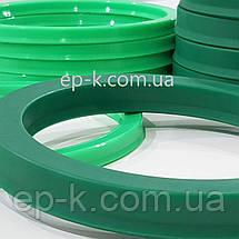 Манжета поліуретанова PU 55х45х7 Green, фото 3