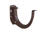 Кронштейн желоба пластиковый Альта 125 коричневый
