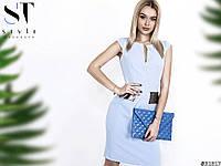 Элегантное платье  С, М, Л   Цвета-  на фото, фото 1