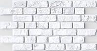 Панель ПВХ Регул Кирпич ретро белый 0,4х495х951мм