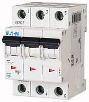 Автоматичний вимикач 63А, х-ка С, 3 полюси,6 кА PL6-C63/3
