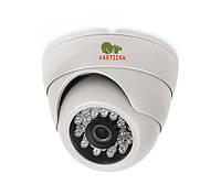 Partizan CDM-223S-IR HD v 4.0 Metal видеокамера купольная с фиксированным фокусом и ИК подсветкой
