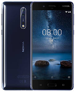 Смартфон Nokia 8 Dual SIM Polished Blue