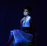 Led одежда из оптоволокна Noblest Art платье (LY31120), фото 1