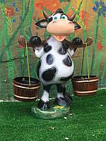 Корова з відрами (висота 50см)