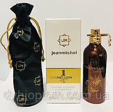 Мужская парфюмированная вода jeanmishel Love 1 Million 90ml