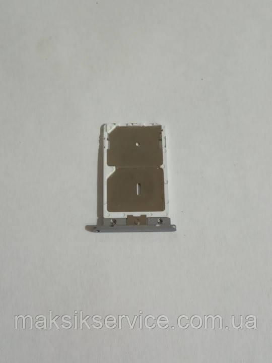 Держатель Sim-карты Xiaomi Redmi Note3 оригинал