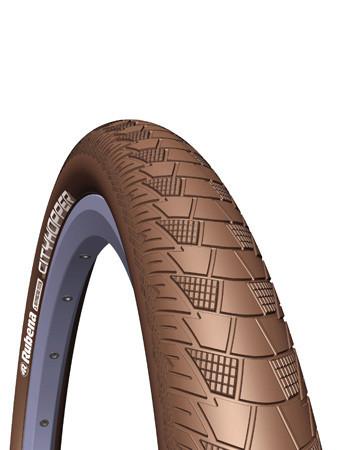 Покрышка 26x2.00 (52x559) MITAS (RUBENA) CITYHOPPER V99 Classic коричневая