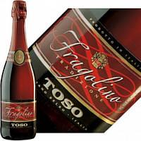 Вино красное игристое Fragolino TOSO Фраголино Тоссо 750мл