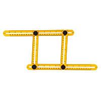 Мультифункциональная линейка RIAS Multifunctional Folding Ruler Yellow (2_006944)