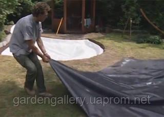 Постил пленки водоема