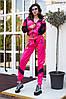Трендовый спортивный костюм из плащевой ткани с яркими вставкам Размер: 42-44. Цвета разные (Р 2487), фото 4