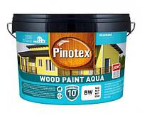 Pinotex Wood Paint Aqua Краска на водной основе для деревянных фасадов 9л