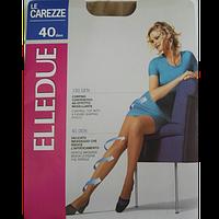Колготи жіночі Elledue Le Carezze 40 den Naturel з шортиками
