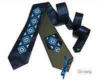 """Атласный галстук с вышивкой """"Сновыд"""", фото 1"""