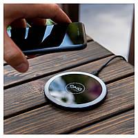 «OMG» Беспроводная Зарядка, Fast QI Wireless Charger Pad 10W, фото 1