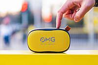 Портативная колонка OMG To GO 900 Portable Bluetooth Speaker Black-Yellow (черный-желтый), фото 1