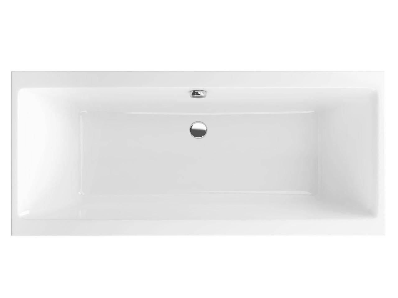 Ванна Excellent Pryzmat Slim 1800x800 мм (WAEX.PRY18WHS-BN)