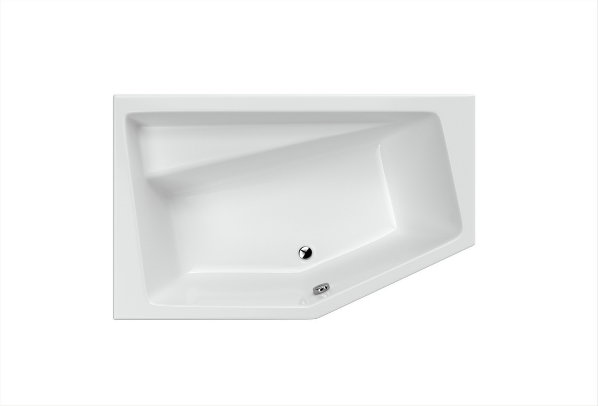 Ванна Excellent Vesper 1600x1000 мм, ліва (WAEX.VEL16WH)