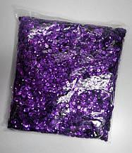 Паєтки 6,5-7,00 мм фіолетовий