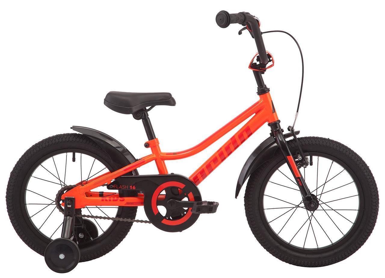"""Велосипед 16"""" Pride FLASH 16 оранжевый 2019"""