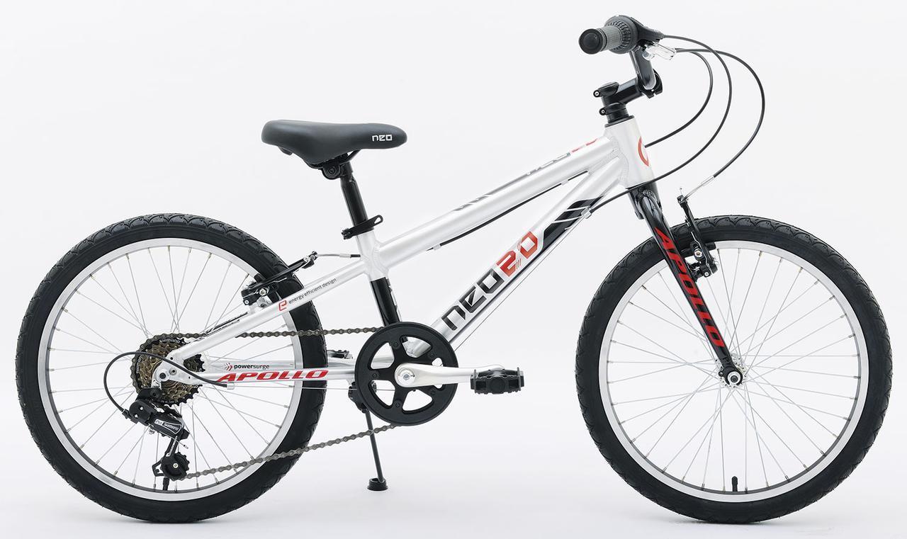 """Велосипед 20"""" Apollo NEO 6s boys черный/красный"""