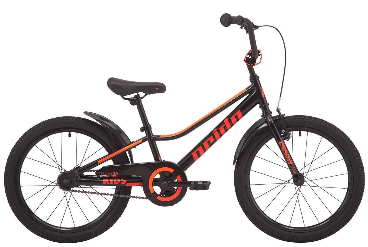 """Велосипед 20"""" Pride FLASH 20 черный 2019"""