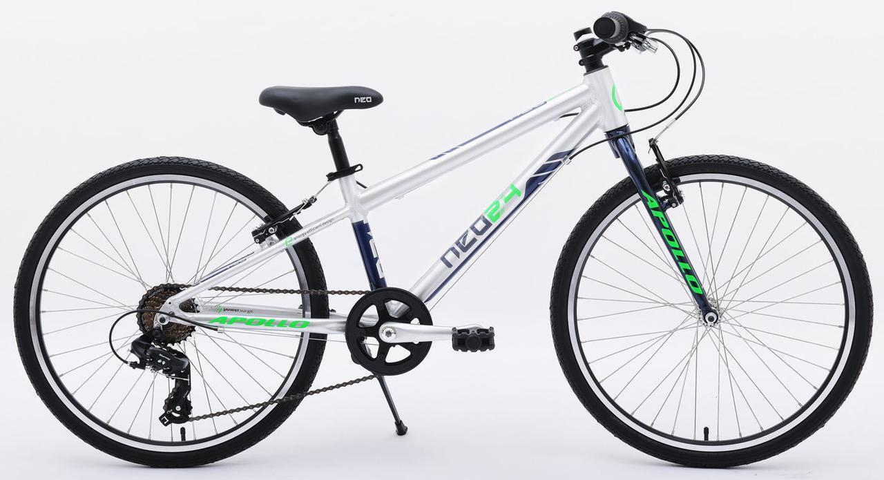 """Велосипед 24"""" Apollo NEO 7s boys черный/красный"""