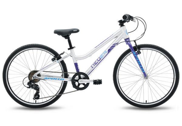 "Велосипед 24"" Apollo NEO 7s girls фиолетовый/синий"