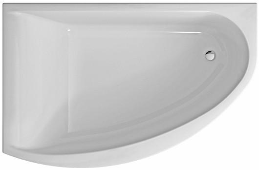 Ванна асиметрична Kolo Mirra 170x110 см, ліва (XWA3371000)