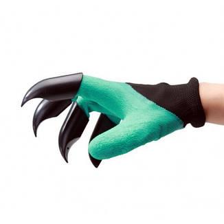Перчатки с когтями для сада и огорода Garden Genie Gloves, фото 2