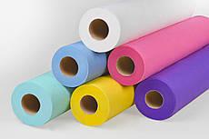Одноразовые простыни Panni Mlada из SMMS в рулоне (0,6х100п/м. 20г/м²) цвета в ассортименте